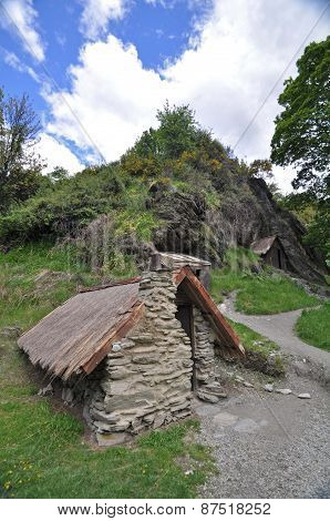 Arrowtown Miners Huts