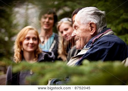 Elderly Man Group