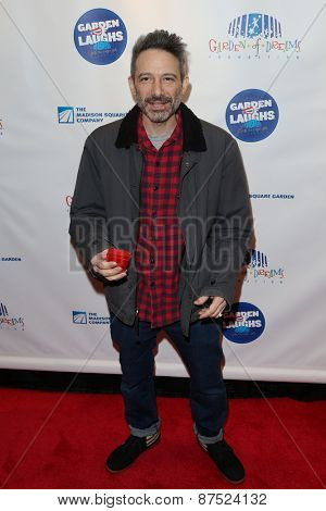 NEW YORK-MAR 28: Musician Adam Keefe Horovit attends the 2015 Garden Of Laughs Comedy Benefit at the Club Bar and Grill at Madison Square Garden on March 28, 2015 in New York City.