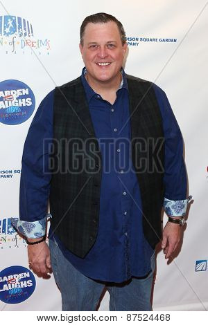 NEW YORK-MAR 28: Actor/Comedian Billy Gardell attends the 2015 Garden Of Laughs Comedy Benefit at the Club Bar and Grill at Madison Square Garden on March 28, 2015 in New York City.