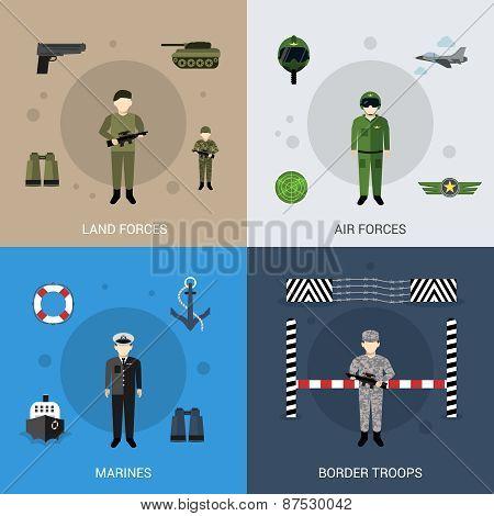 Military Flat Set