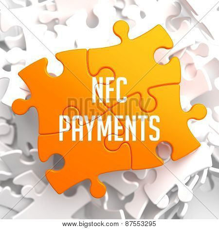 NFC Payments on Yellow Puzzle.