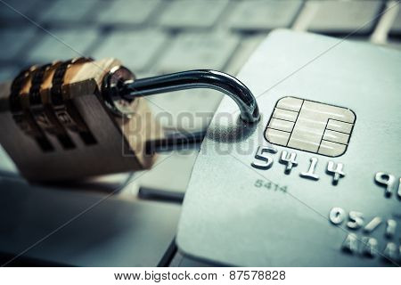 Credit card data theft protection