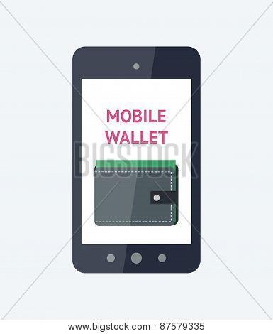 Mobile wallet concept
