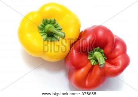 Bell Peppers From Above