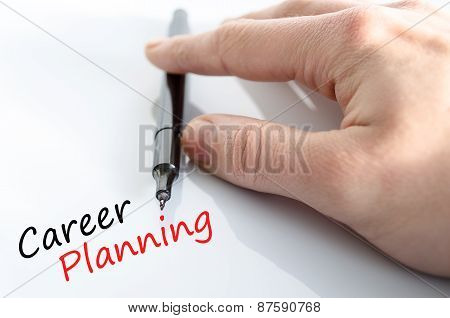 Career Planning Concept