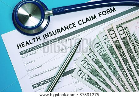 Health Insurance Claim Concept