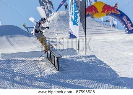 Edvards Lansmanis, Lithuanian skier