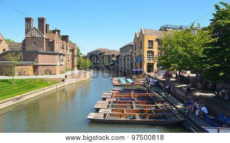 The river Cam at Cambridge