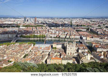 Horizontal View Of Lyon