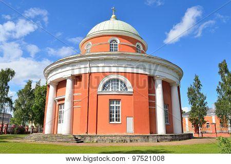 Hamina, Finland. St..peter And Paul Church