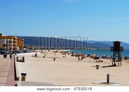 Barbate beach, Spain.