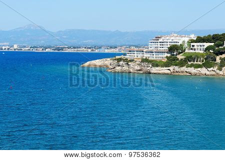 The View On Luxury Hotel And Bay, Costa Dorada, Spain
