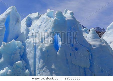 Window In Blue Ice