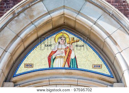 Saint Helen Image in Catholic Church