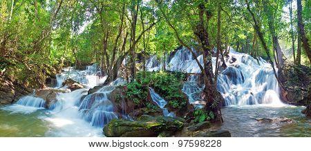 Pha Tat Waterfall On The Top Floor
