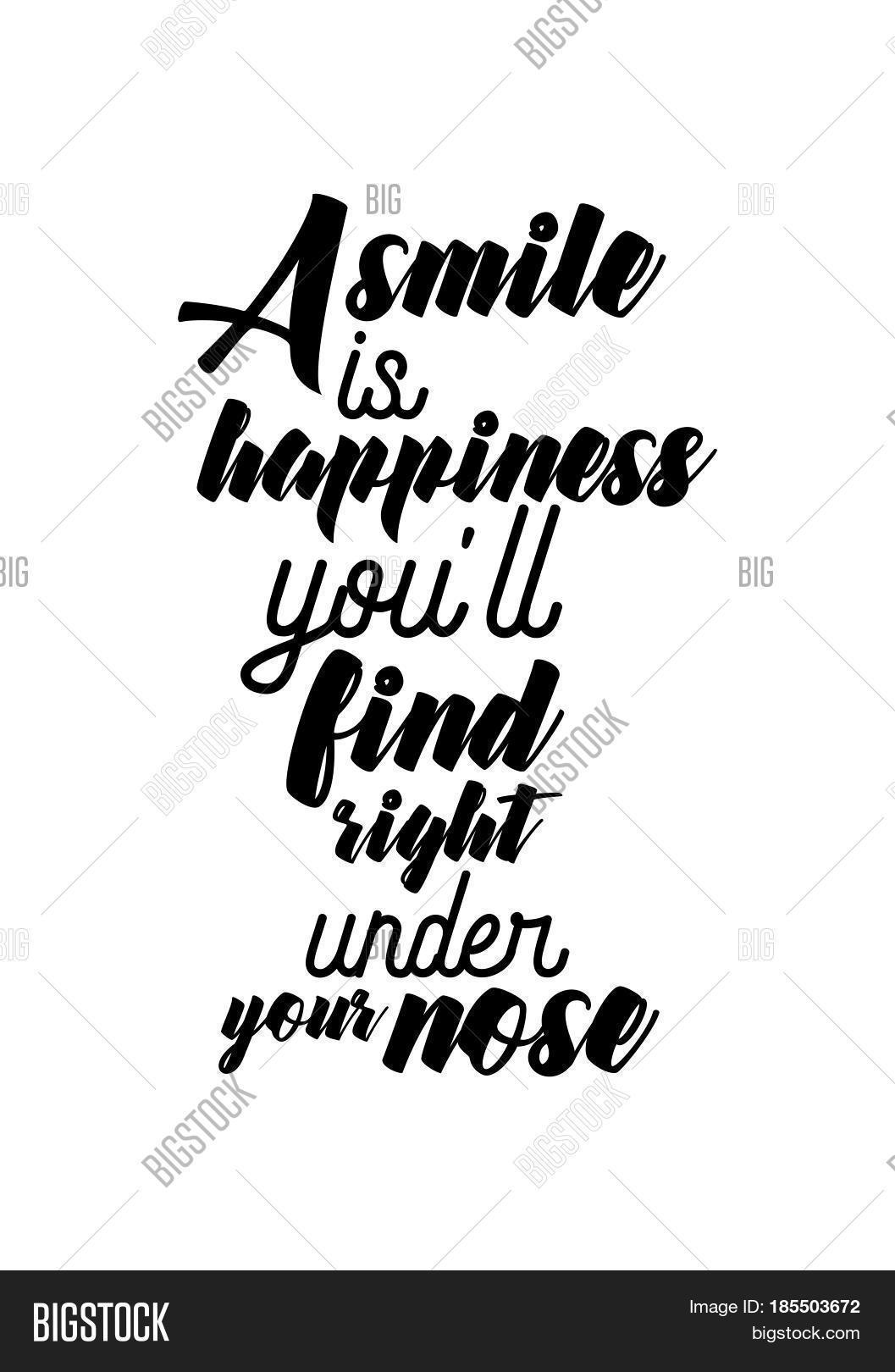 quotes about smile and happiness
