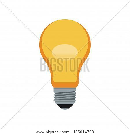 bulb light idea innovation ilumination image vector illustration