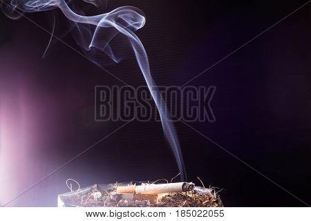 World No Tobacco Day ,Cigarette, addiction, ashtray ,cigarette, cigarette butt, cigarette filter