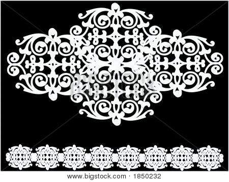 White Designs Over White.Eps
