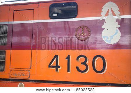 Alsthom Diesel Locomotive No 4130