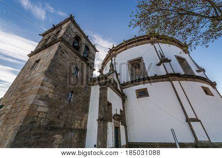 Monastery of Serra do Pilar church and tower in Vila Nova de Gaia Portugal