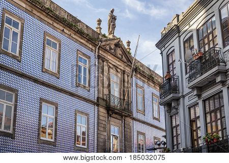 Rosary Hospital (also knowna as Order of Third Hospita) in Porto Portugal