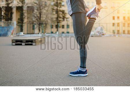Running Stretching.