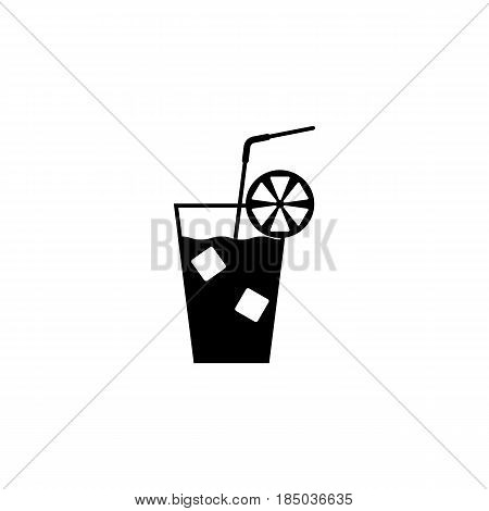 Cocktail solid icon, food drink, tipple, a filled pattern on a white background, eps 10.