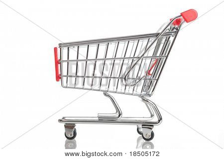 Aislado de carro de compras