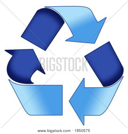 Blue Recycle