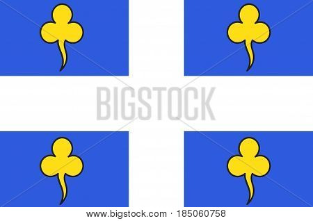Flag of Ambert is a commune in the Puy-de-Dome department in Auvergne in central France.