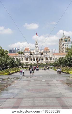 Ho Chi Minh City Hall, Vietnam