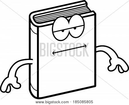 Cartoon Book Bored