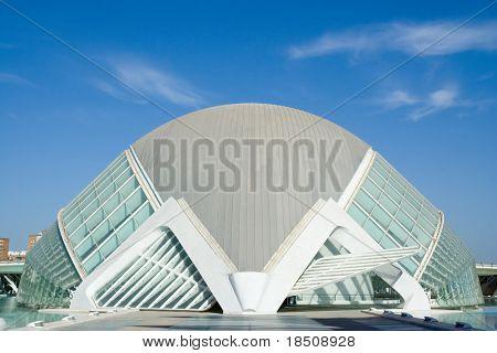 Hemisferic building in Valencia, Spain