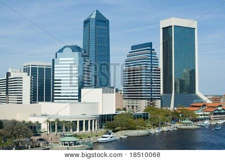 Skyline of the Jacksonville poster