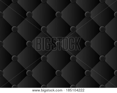 upholstery black pattern abstract background vector illustration