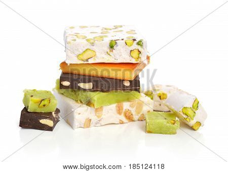 Pile Of Different Turron