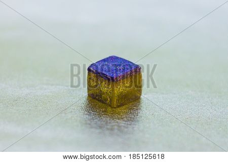 Crystal Made Of Epoxy Resin And Glitters