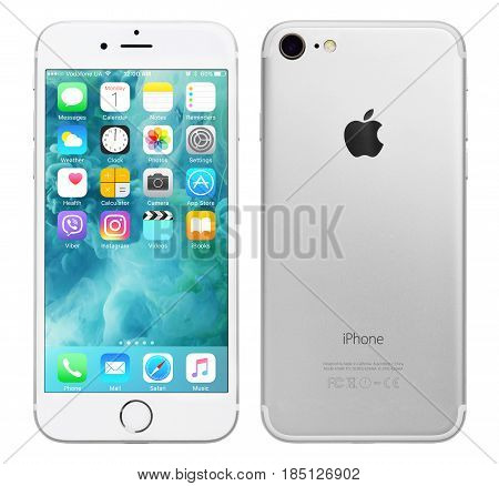 Silver Apple Iphone 7