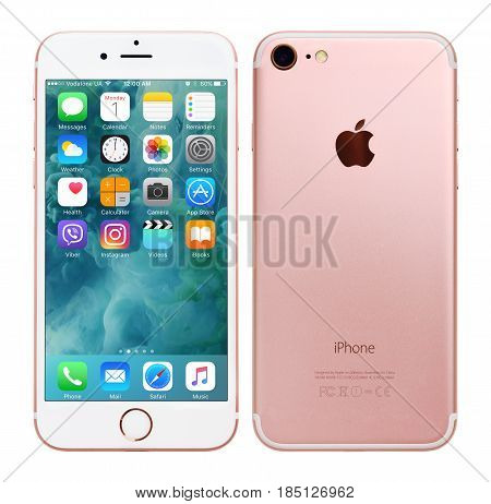 Rose Gold Apple Iphone 7