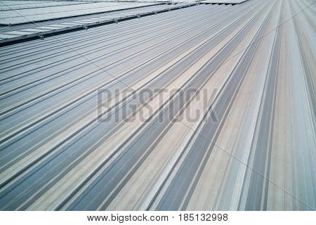 Aluminum Industrial Metal Roof With Grooves