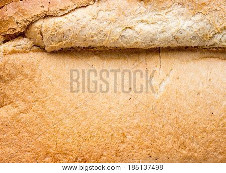 The Bread background and texture.