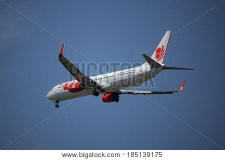Hs-ltr Boeing 737-900Er Of Thai Lion Air Airline