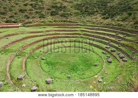 Round Inca Circlular Terraces