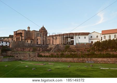Cathedral Armas In Cusco
