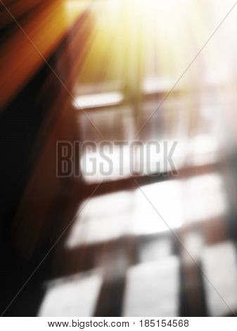 Diagonal rays from window motion blur background hd