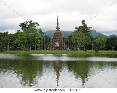 Thai Buddhist Stupa