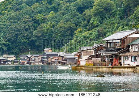 Ine cho of Kyoto of Japan