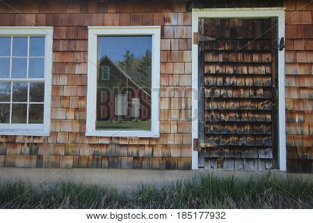 A farm building in Sleeping Bear Dunes National Lakeshore, Michigan